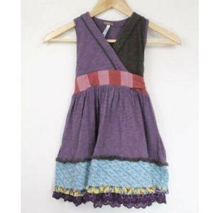 Matilda Jane Elizabeth Wrap Dress sz 4 Girls